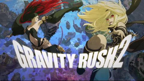 Gravity Rush 2 sur Vita