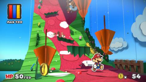Paper Mario : Color Splash - Humour, simplicité et papier mâché.