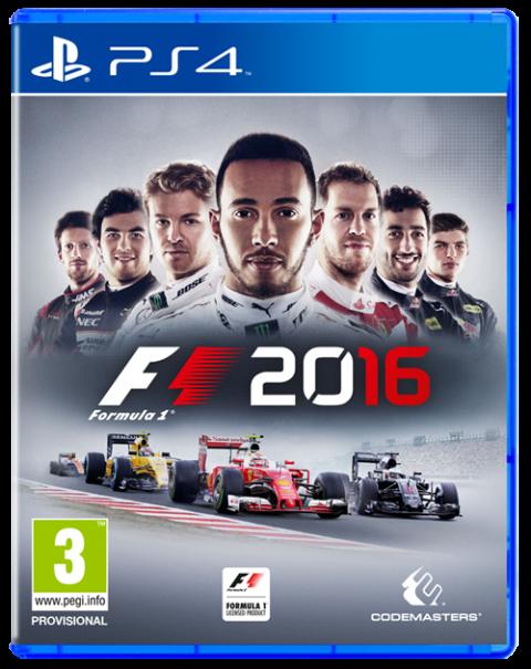 F1 2016 sur PS4