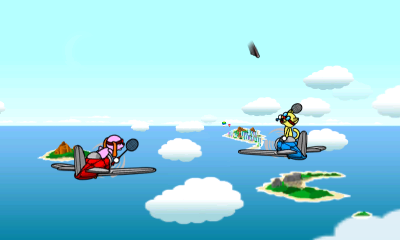 Rhythm Paradise Megamix : Mini-jeux et franche rigolade