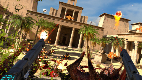 Serious Sam VR The Last Hope - Un shooter plaisant en réalité virtuelle : E3 2016