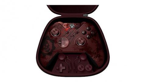 E3 2016 : Microsoft grime une manette Elite aux couleurs de Gears of War 4