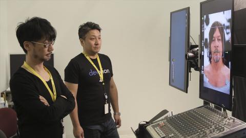 Death Stranding : Les acteurs du jeu en motion capture