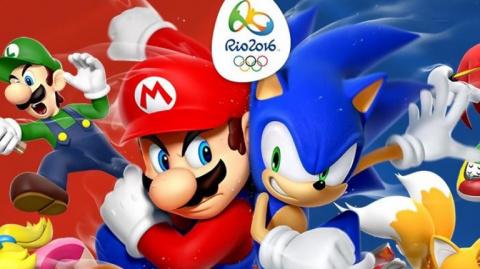 Jaquette de Mario et Sonic aux Jeux Olympiques de Rio 2016, du multi-épreuves manquant de contenu sur WiiU