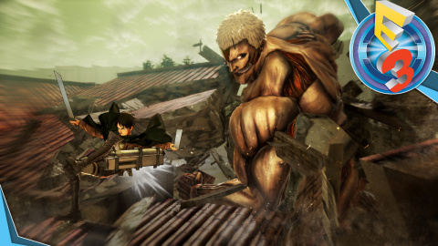 Jaquette de L'Attaque des Titans, de l'anime au jeu vidéo: E3 2016
