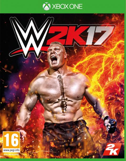 WWE 2K17 sur ONE