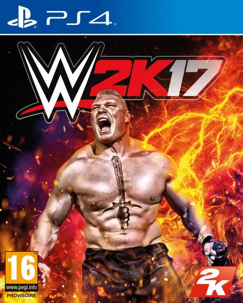 WWE 2K17 sur PS4