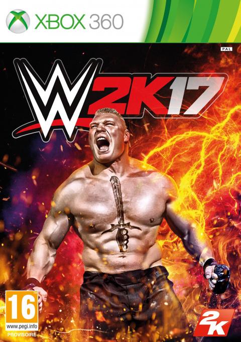 WWE 2K17 sur 360