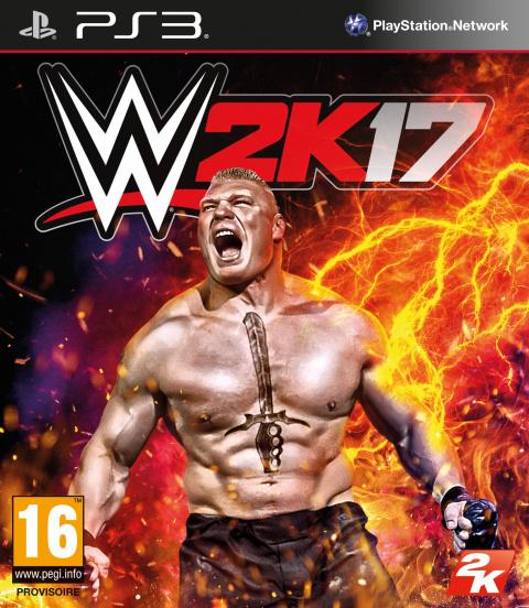WWE 2K17 sur PS3