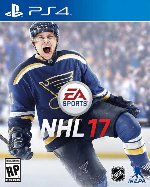 NHL 17 sur PS4