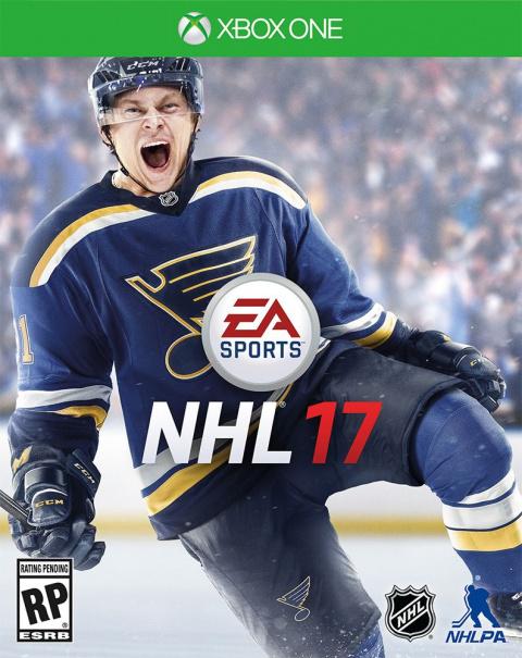 NHL 17 sur ONE