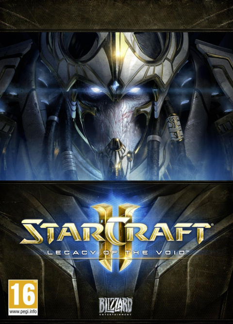 Jaquette de Starcraft II : Legacy of the Void