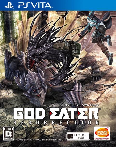 God Eater Resurrection sur Vita