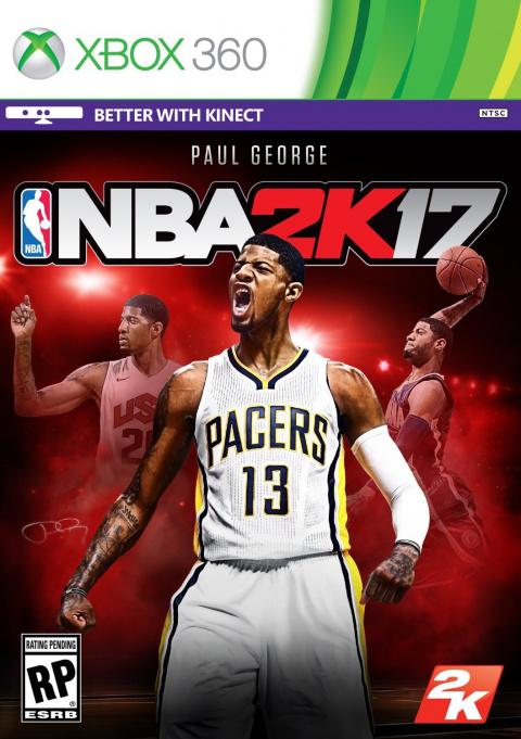 NBA 2K17 sur 360