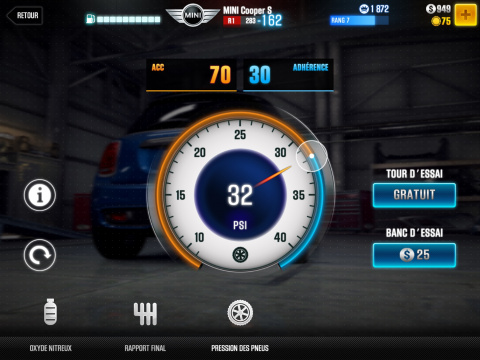 CSR Racing 2 : Un jeu de course arcade efficace