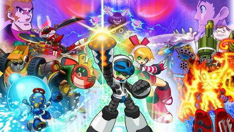 Jaquette de Mighty N°9 : Prenez Mega Man, retirez-en le génie, et voilà le résultat
