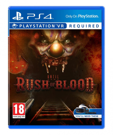 Until Dawn : Rush of Blood sur PS4
