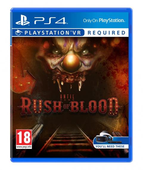 Until Dawn : Rush of Blood sur PS4