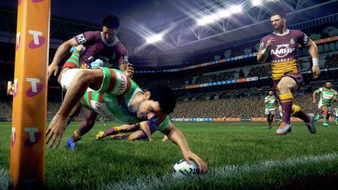 Jaquette de Jonah Lomu Rugby Challenge 3 : Une percussion sans conviction