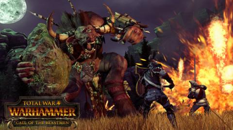 Les Hommes-bêtes arrivent fin juillet sur Total War : Warhammer