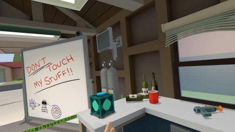 L'excellente série Rick and Morty s'offre un jeu VR sur HTC Vive !