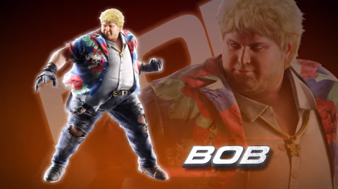 Jaquette de Bob rejoint le casting de Tekken 7