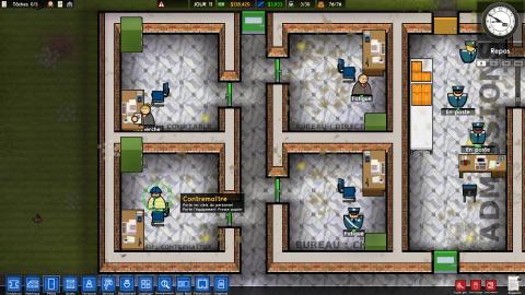 Prison Architect : le multijoueur est disponible pour tous sur PC