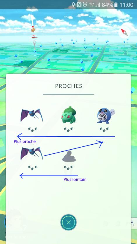 Comment bien utiliser le Radar à Pokémon ? Localiser un Pokémon à 1 / 2 / 3 pas