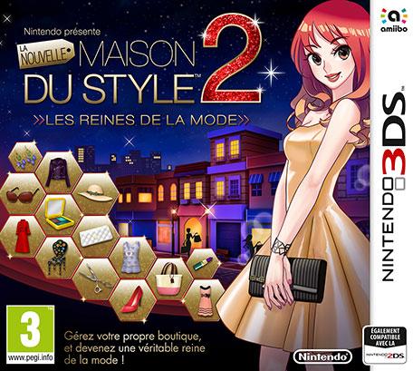 La Nouvelle Maison du Style 2 - Les reines de la mode sur 3DS