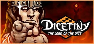 DICETINY : The Lord of the Dice sur iOS