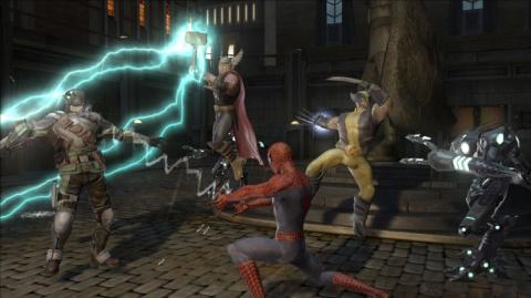 Jaquette de Marvel Ultimate Alliance 1 et 2 passent par la case PC, PlayStation 4 et Xbox One
