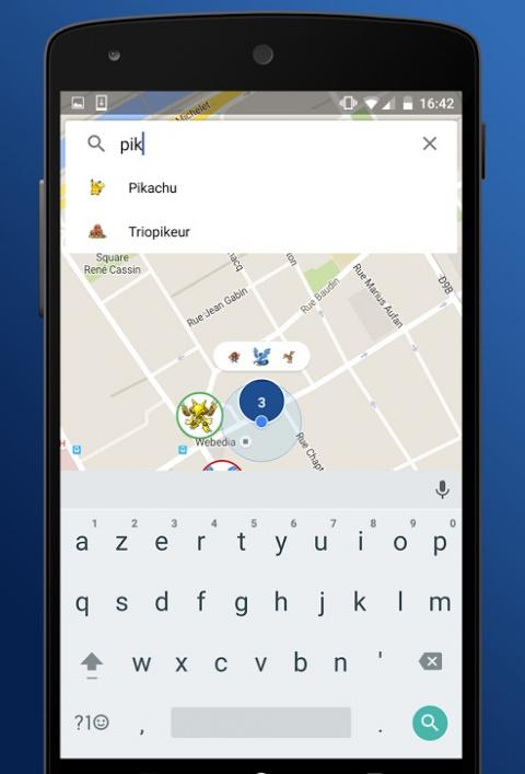Trouver un Pokémon particulier / Application Carte Pokémon GO