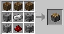 Les objets à Redstone