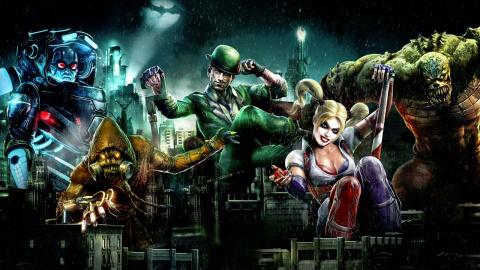 Jaquette de Batman Arkham Underworld : Vis ma vie de parrain de la pègre sur iOS
