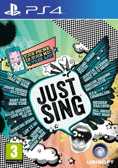 Just Sing sur PS4