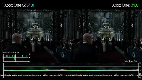 La Xbox One S améliore le framerate de certains jeux !