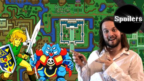 Jaquette de Spoilers : Zelda A Link To The Past raconté par Maxime
