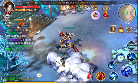 Chaos Legends : Un MMO nomade sans concession