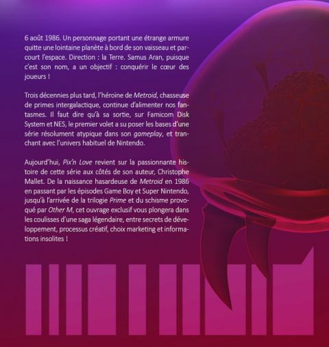 Pix'n Love : Un livre dédié à Metroid pour les 30 ans de la saga