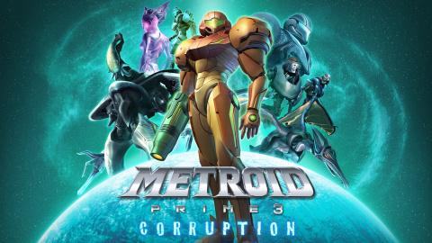 Jaquette de Metroid a 30 ans - Metroid Prime 3 : Corruption avec Anagund