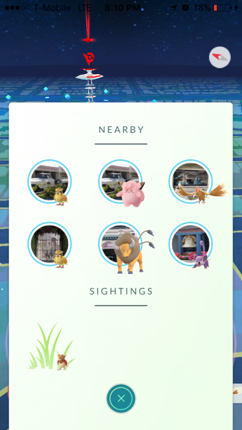Pokémon GO : Un nouveau système de radar dans la mise à jour