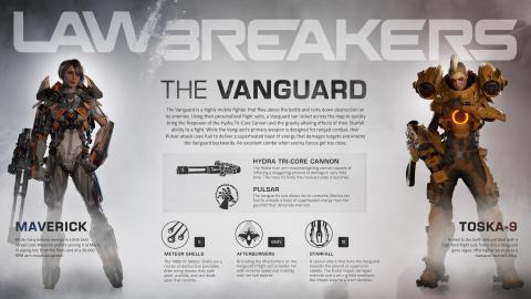 LawBreakers : Le Vanguard donne le tournis à ses ennemis