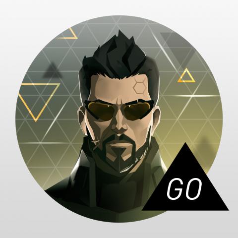 Deus Ex GO sur iOS