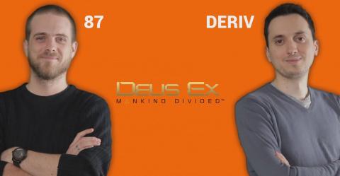 J'aime / J'aime pas - Deus Ex :  Mankind Divided