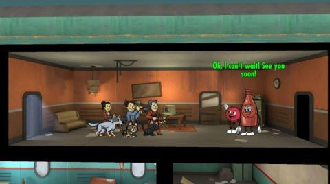 Fallout Shelter : Accueillez Bottle et Cappy dans votre abri antiatomique