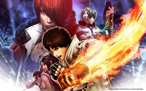 Jaquette de The King of Fighters XIV : Vive le Roy ! sur PS4