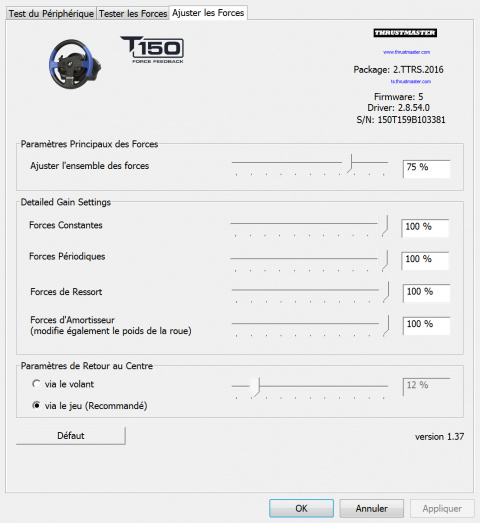 Test du volant Thrustmaster T150 Force Feedback : La force tranquille