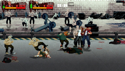 Mother Russia Bleeds : Le beat'em up gonflé aux stéroïdes