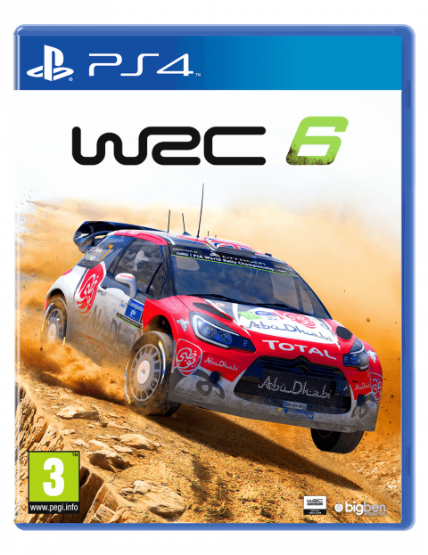 wrc 6 sur playstation 4. Black Bedroom Furniture Sets. Home Design Ideas