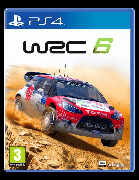 WRC 6 sur PS4